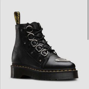 DR MARTENS FARYLLE BOOT Aunt Sally MILLED LEATHER